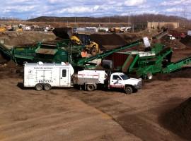 Travaux d'entretien et de réparation au chantier de Savaria à Charny.
